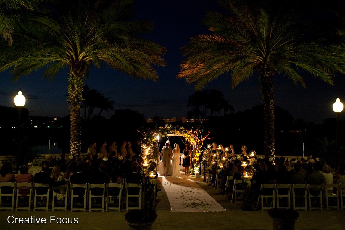 Diplomat golf course wedding