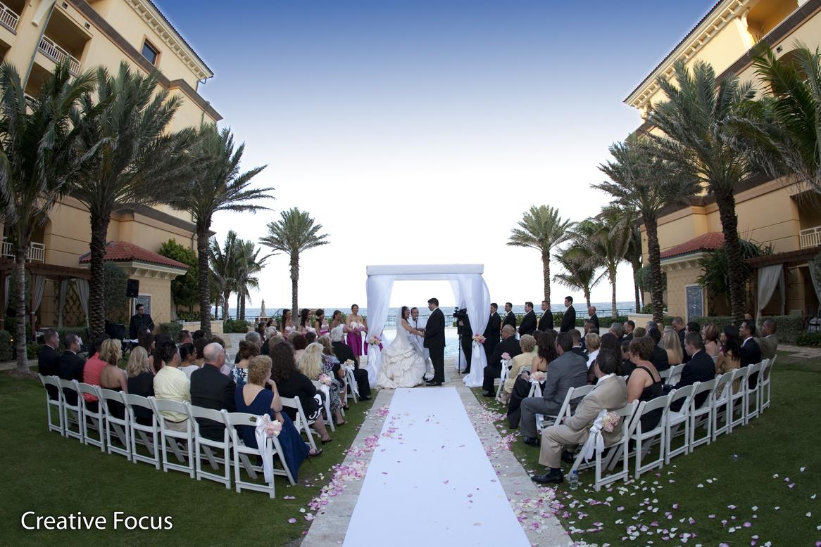 Andria And Bens Wedding Ritz Carlton Palm Beach